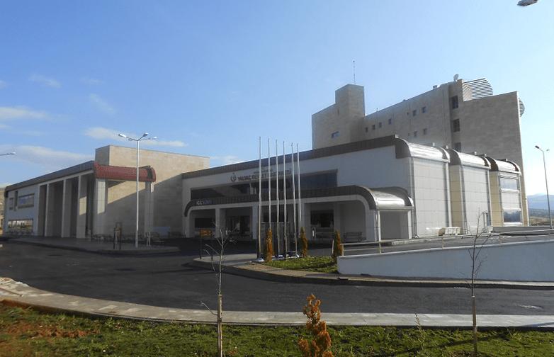 Isparta Yalvaç Devlet Hastanesi İnşaatı
