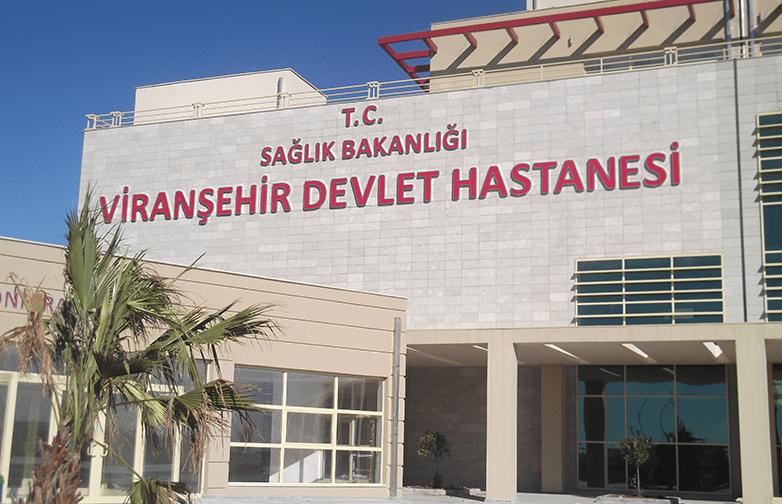 Şanlıurfa Viranşehir 200 Yataklı Devlet Hastanesi